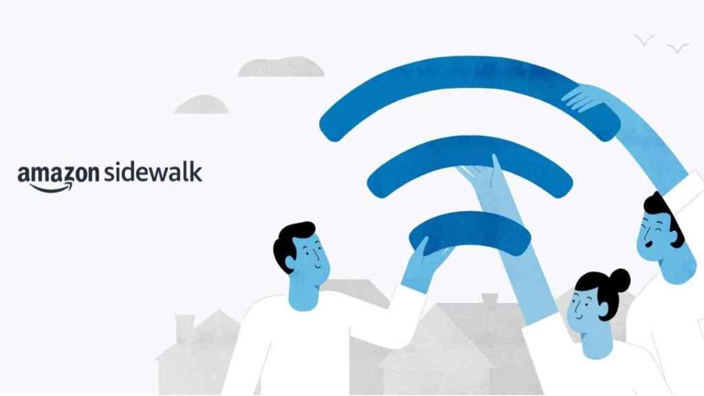 Amazon quiere que compartas tu WiFi con tu vecino.