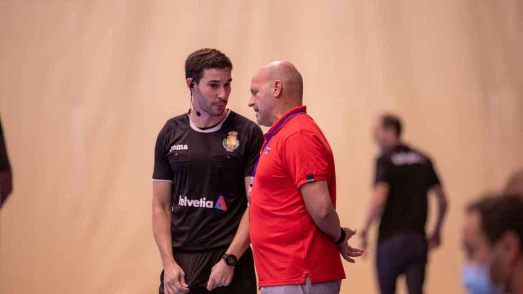 Fernando Latorre, en un entrenamiento