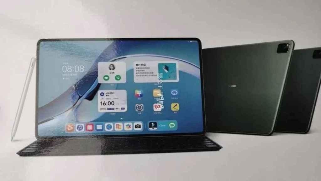 Huawei MatePad Pro 10.8 diseño