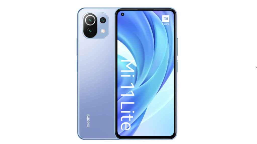 Xiaomi Mi 11 Lite 6 GB + 128 GB Bubblegum blue