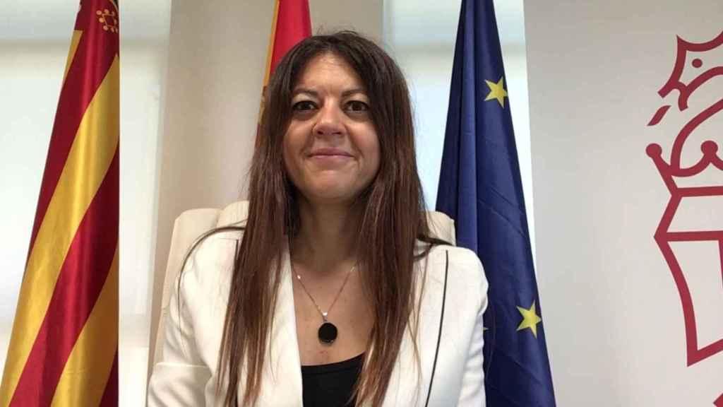 La consellera Carolina Pascual, durante la presentación del estudio.