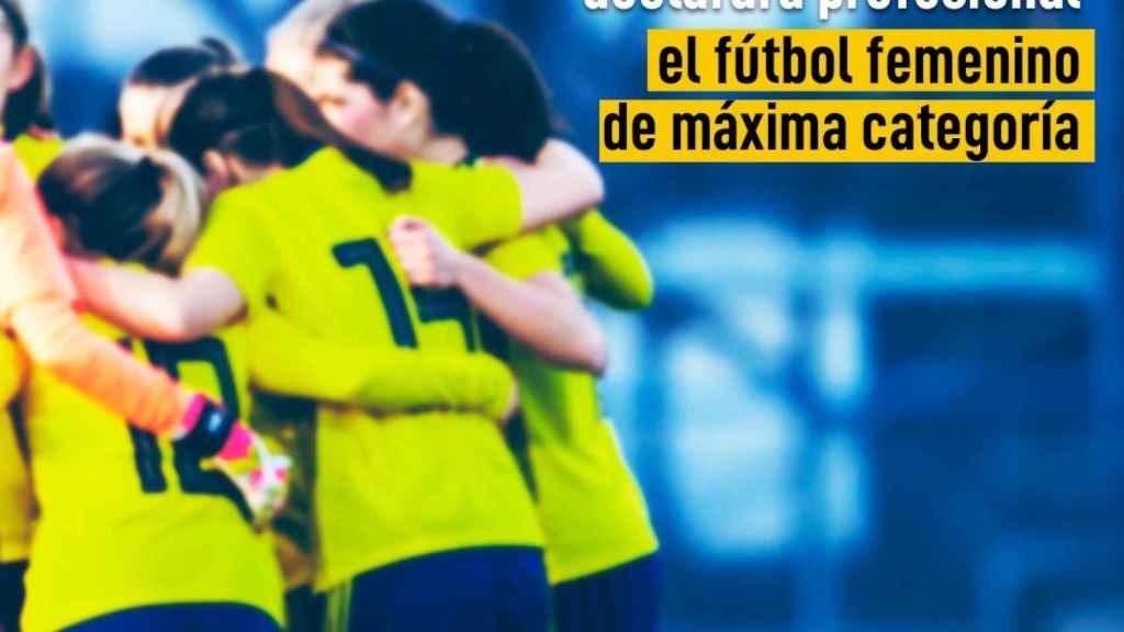 El CSD anuncia que el fútbol femenino será profesional