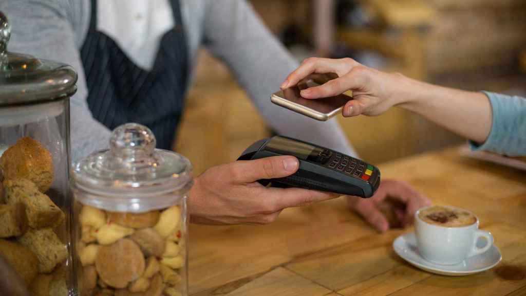 Pago por NFC en un móvil