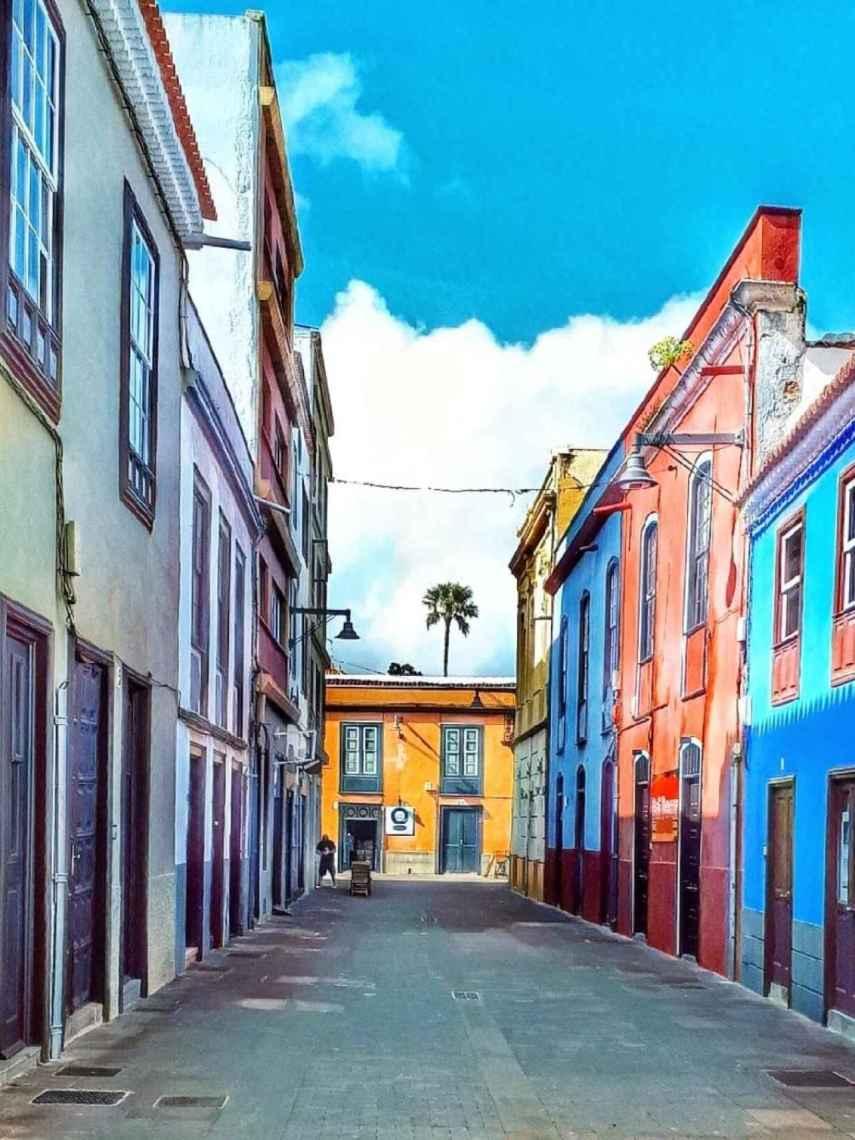 La Laguna. Calle Ascanio y Nieves.