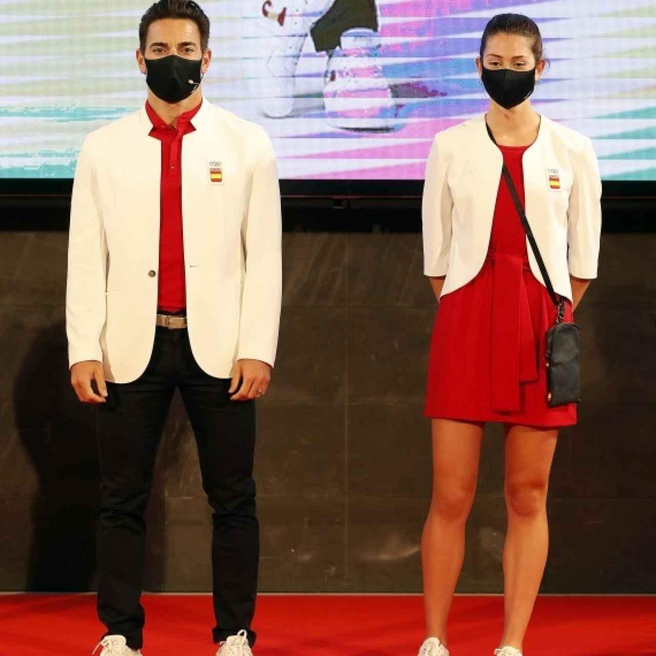 Los trajes de los deportistas españoles para los desfiles en los Juegos Olímpicos de Tokio