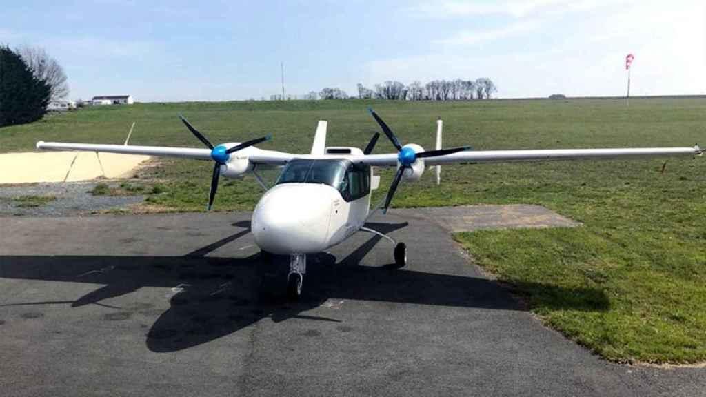 Cessna 337 Skymaster de pruebas