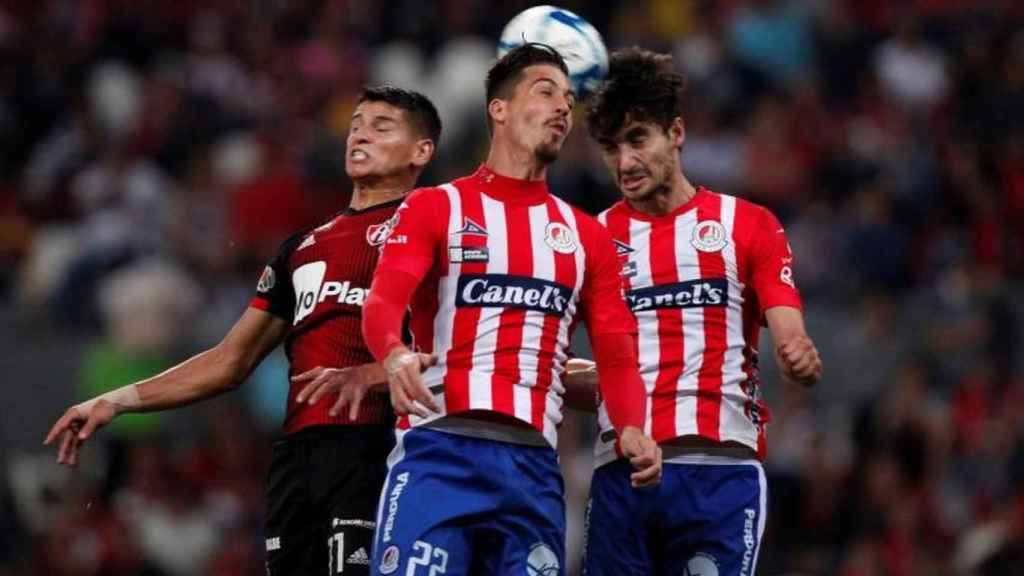 El Club Atlético de San Luis, el principal responsable de las pérdidas del Atlético