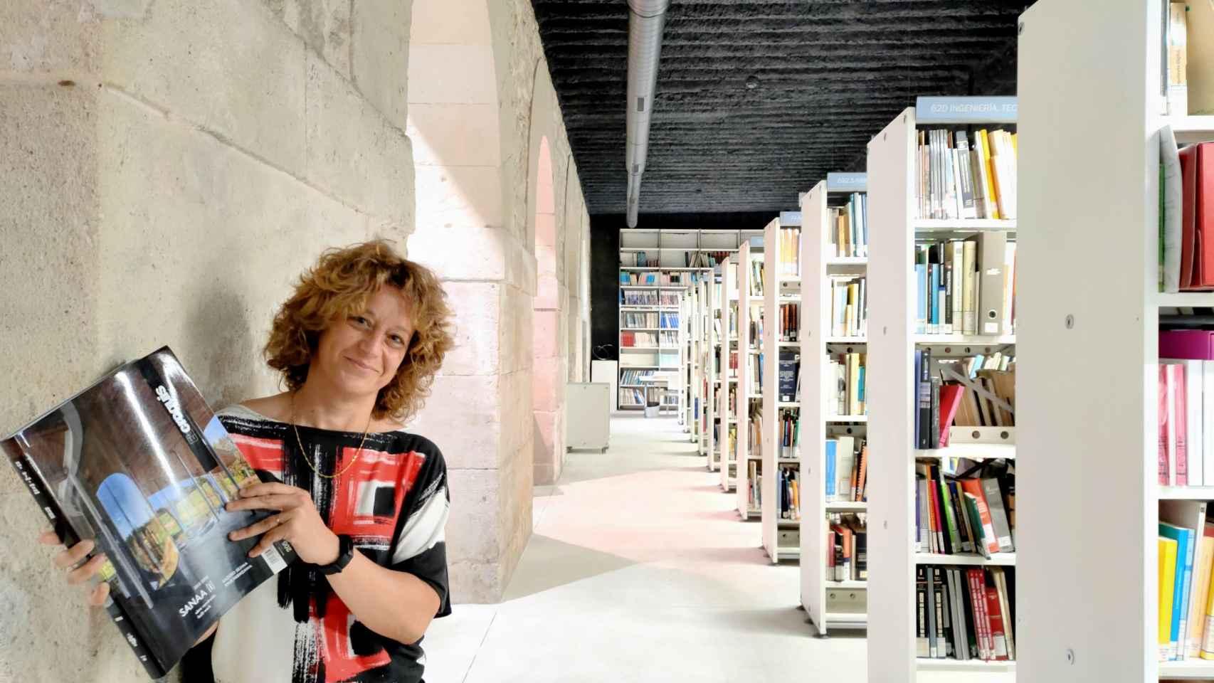 Beatriz Payá es responsable de la Biblioteca del CTAA desde hace 17 años