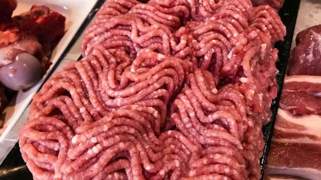 Un preparado de carne como el que podemos encontrar en el supermercado.