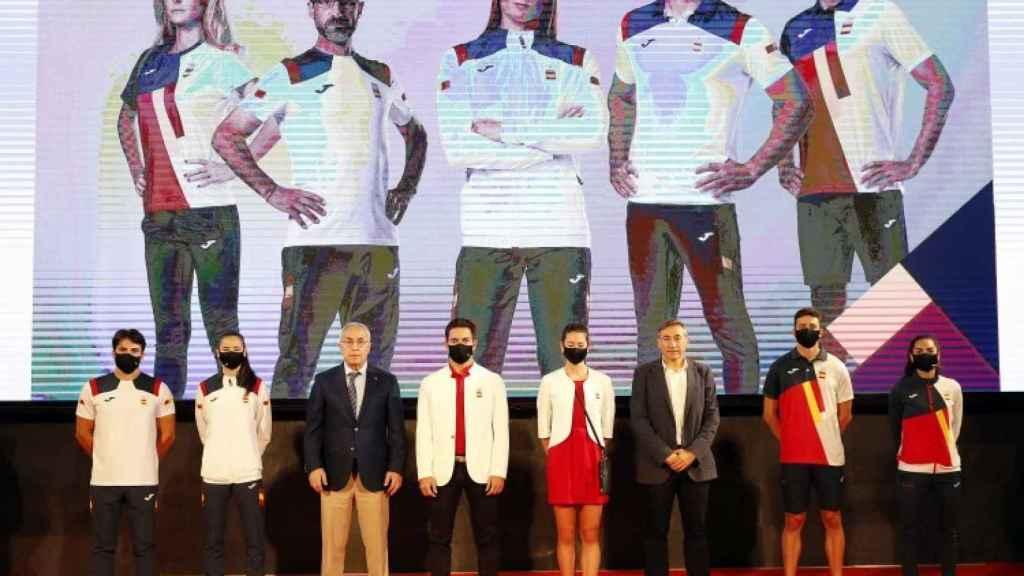 Así irán vestidos los deportistas de España en los Juegos Olímpicos de Tokio 2020