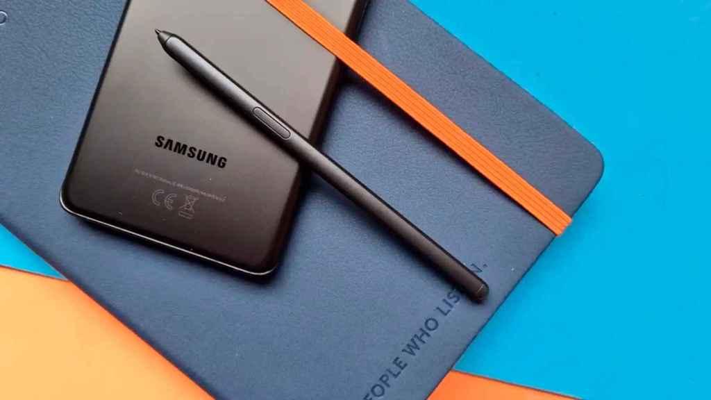 Galaxy S21 Ultra para el S-Pen