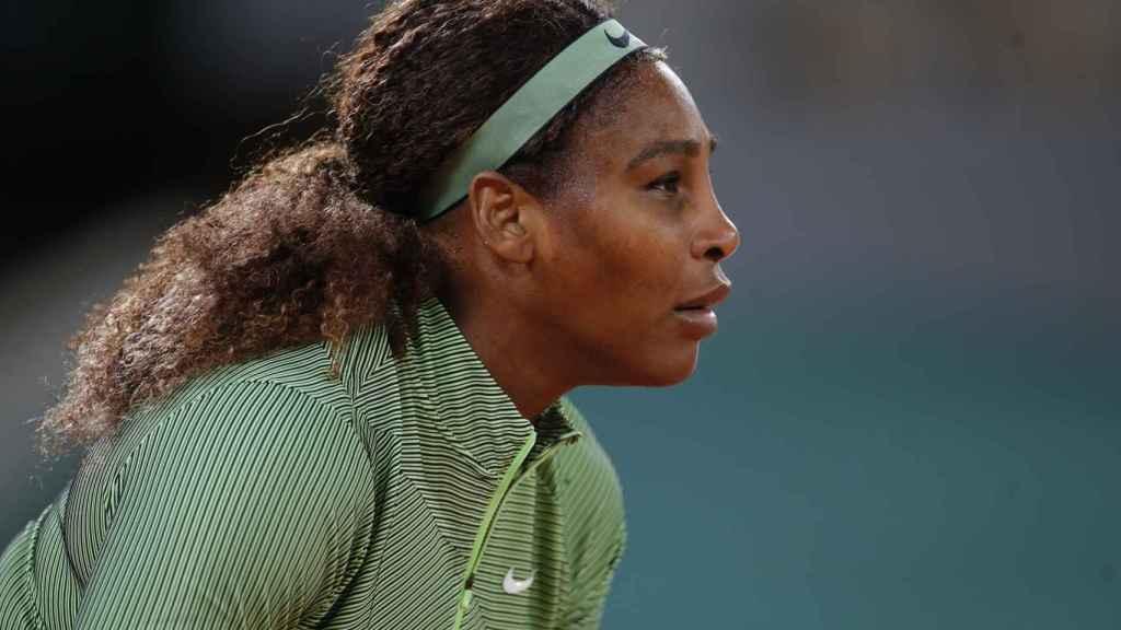 Serena Williams, en Roland Garros 2021