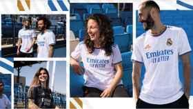 El Real Madrid presenta su nueva equipación