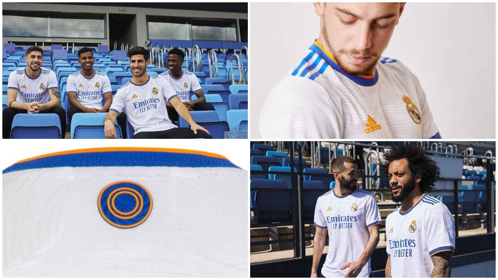 La nueva camiseta del Real Madrid 2021/2022, al detalle