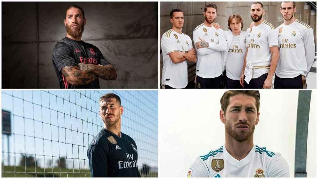 Sergio Ramos, en las presentaciones de otras temporadas
