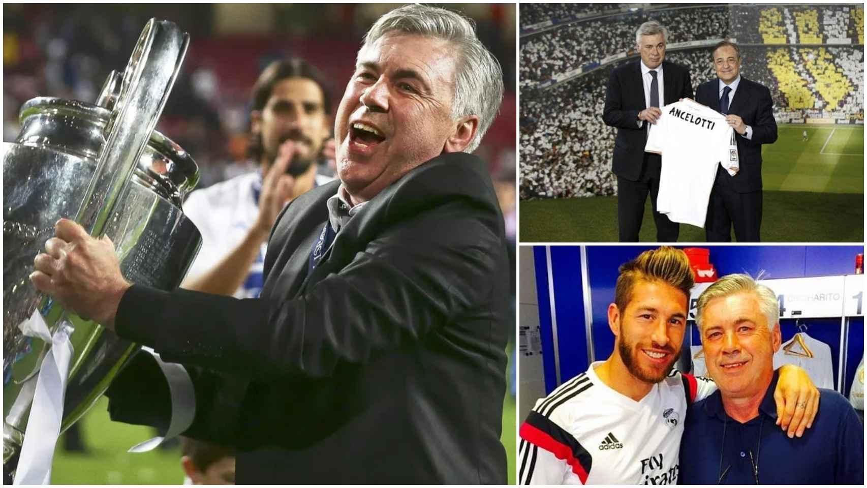 Los mejores momentos de Ancelotti en el Real Madrid