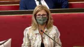 La toledana Pilar Alía ha pedido en el Senado la bajada del IVA de las mascarillas
