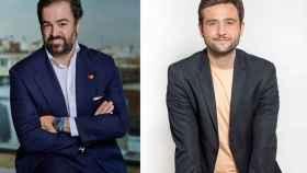 Alejandro Banegas, director de Desarrollo de Negocio de Mastercard, y Jorge Soriano, co-fundador y CEO de Criptan.