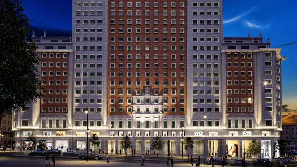 Imagen del Edificio España.