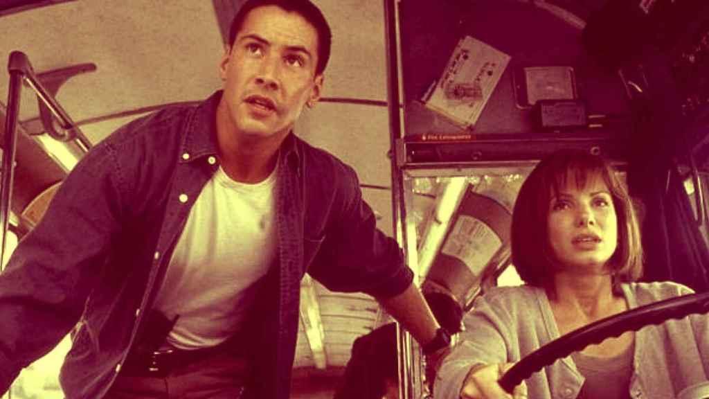 Un fotograma de la película 'Speed'.