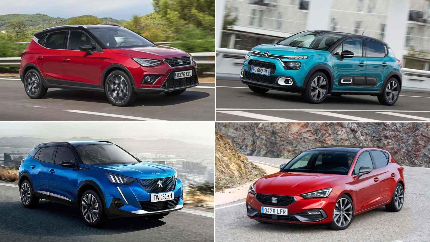 Estos son los coches con más ventas en España en lo que llevamos de 2021