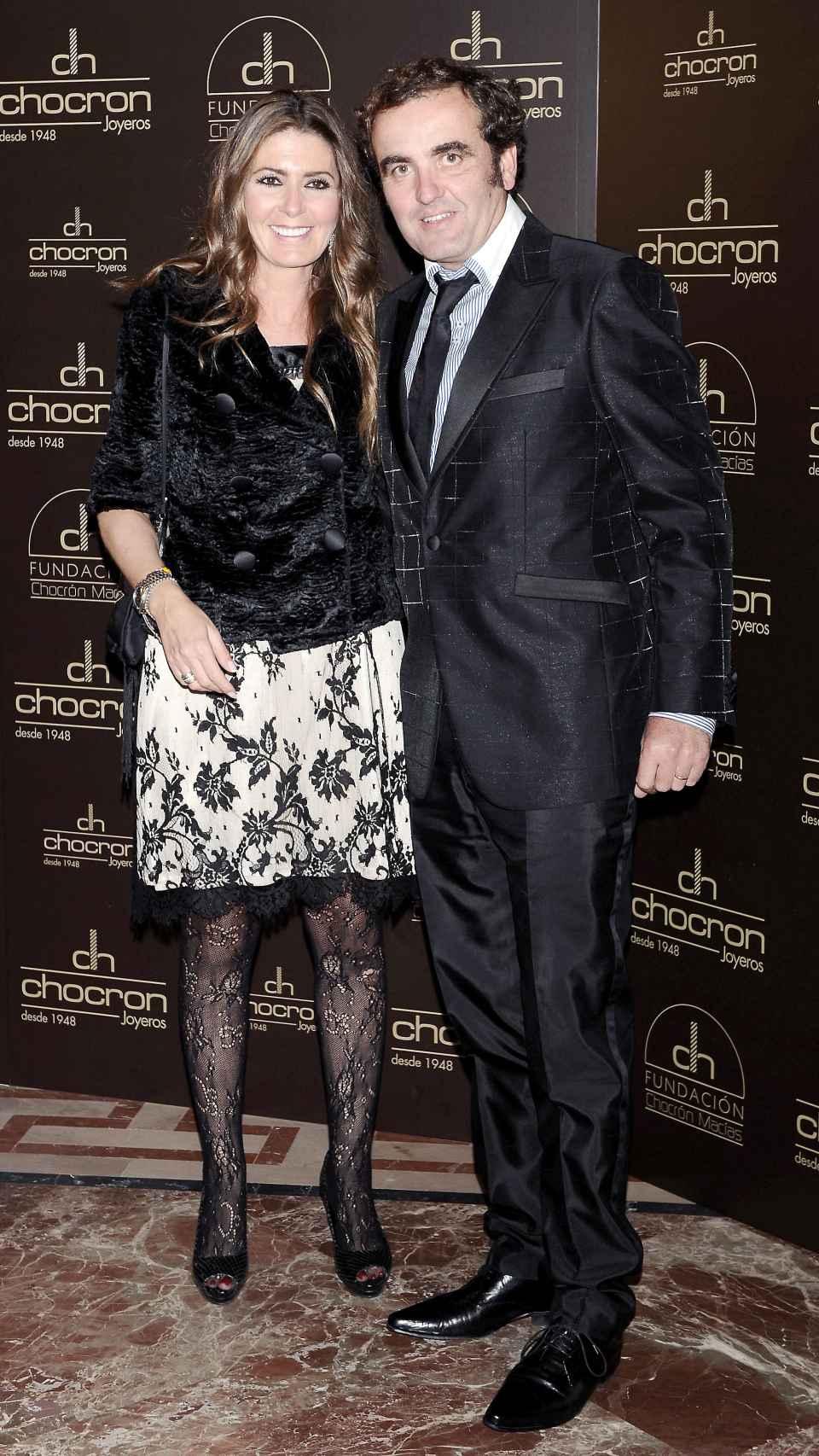 Montero y Marisa en una imagen en noviembre de 2011.