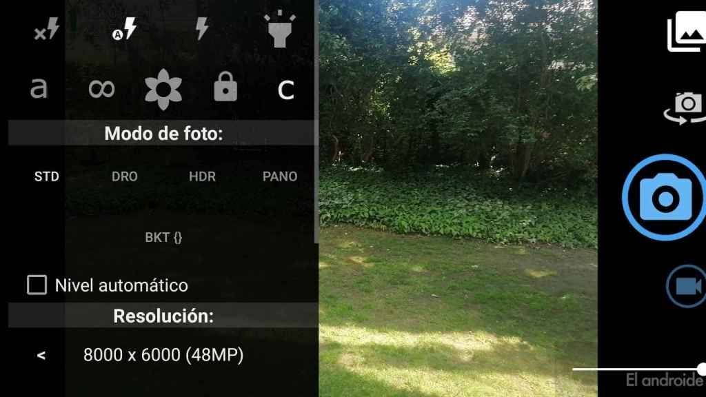 Open Camera funciones