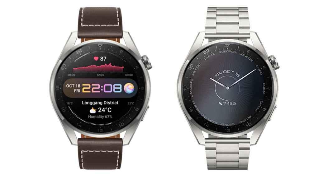Huawei Watch 3 Pro en ediciones clásico y elite