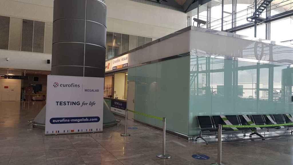 Zona para realizar los test en Alicante.