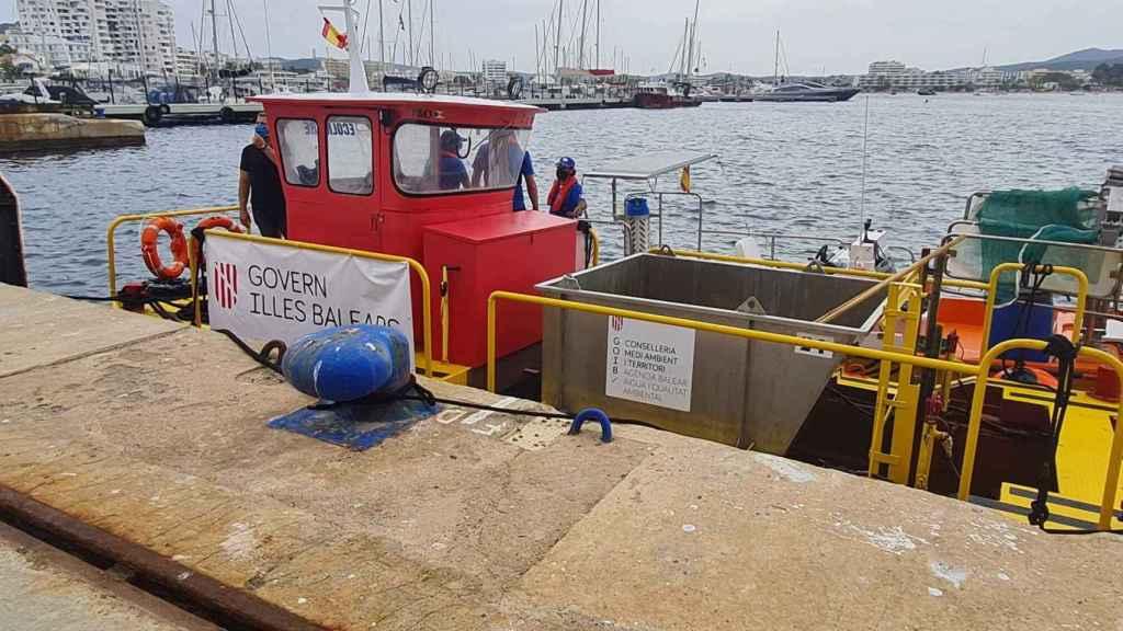 Las nuevas embarcaciones para mejorar la retirada de plásticos del mar en Baleares.