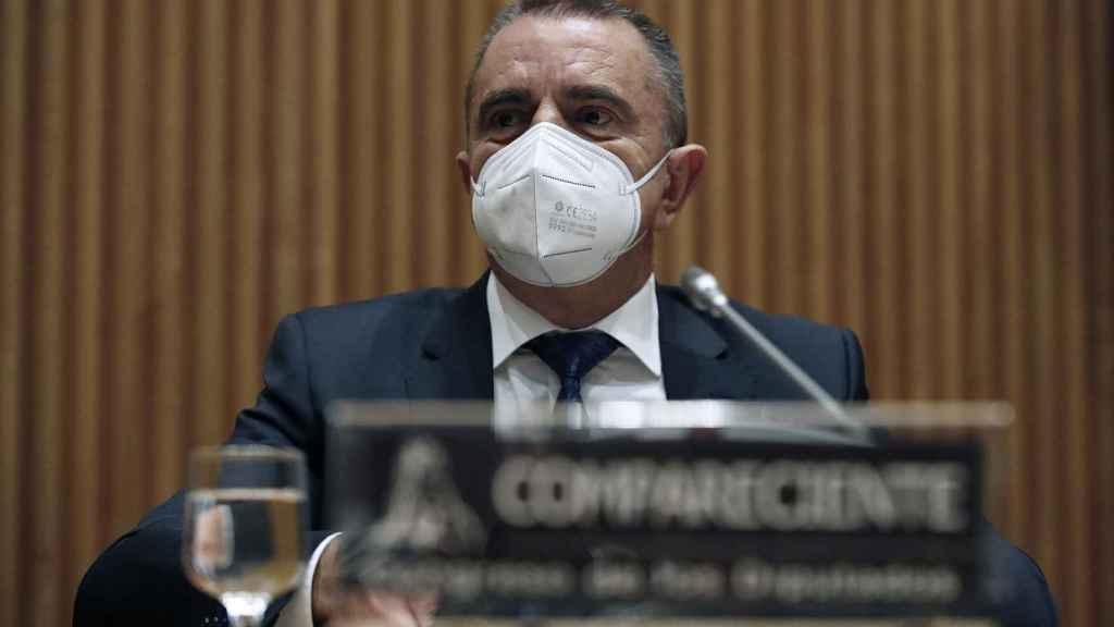 José Manuel Franco, presidente del CSD, comparece en el Congreso