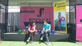 Alicia Garijo y Vicent Marzà, en la presentación del festival Fresca!