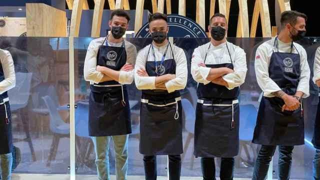 El equipo de Cañitas Maite, cuyos chefs se ha alzado con el premio al Cocinero Revelación 2021