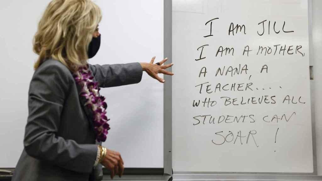 Jill Biden ha seguido con su labor de profesora.