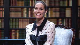 Fiona Ferrer Leoni durante la presentación de 'La estilista', de último libro.