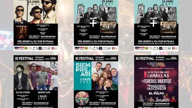 XI Festival Solidario de Ciudad de la Raqueta 2021