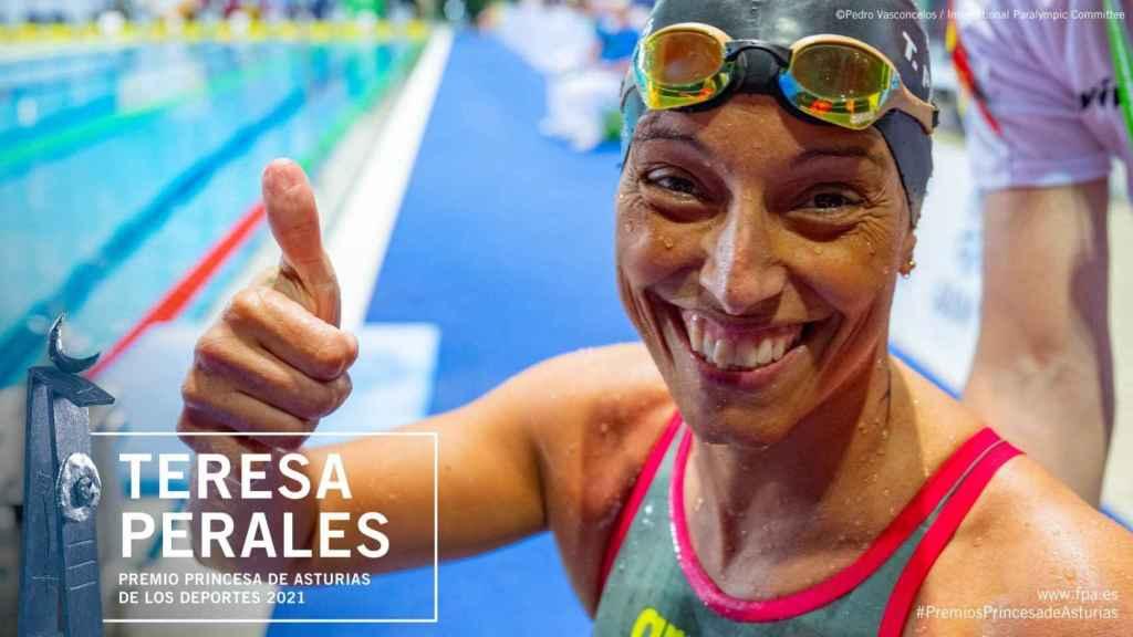 Teresa Perales, premio Princesa de Asturias de los Deportes 2021