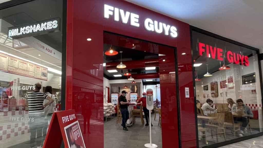 El nuevo Five Guys de La Vaguada