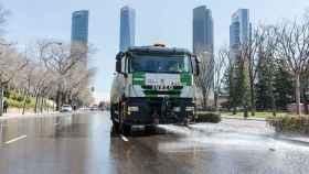 Sacyr, Ferrovial, OHL y FCC optan a seguir limpiando las calles de Madrid.