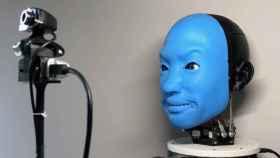 EVA, un robot capaz de imitar expresiones