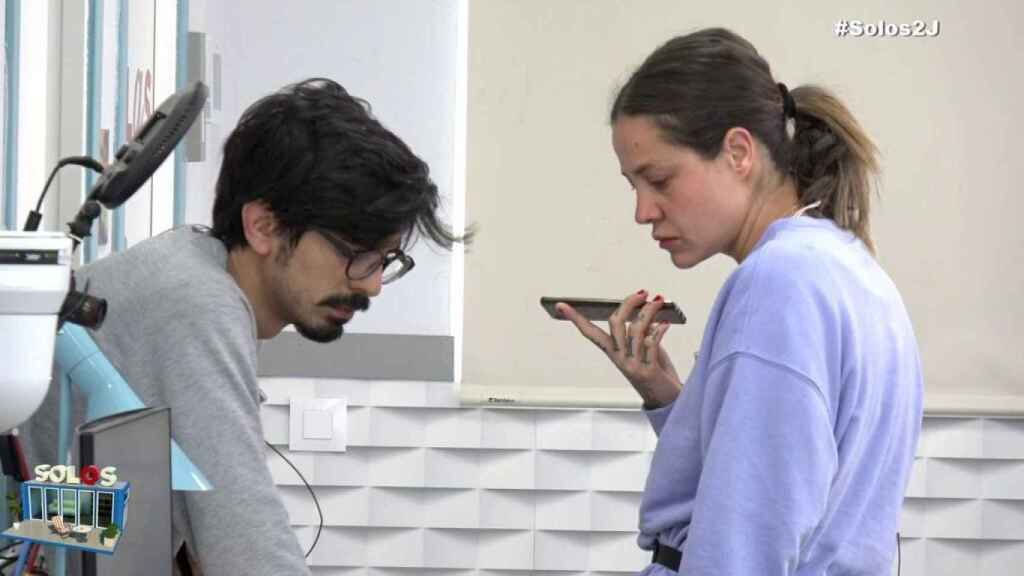 Ariadna Cross continúa finalmente en'Solos': su marido le llama para disculparse