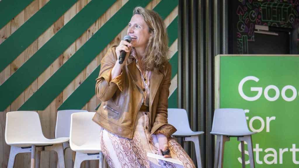 Sofía Benjumea durante la presentación del informe Impact Report 2019 de Google for Startups.