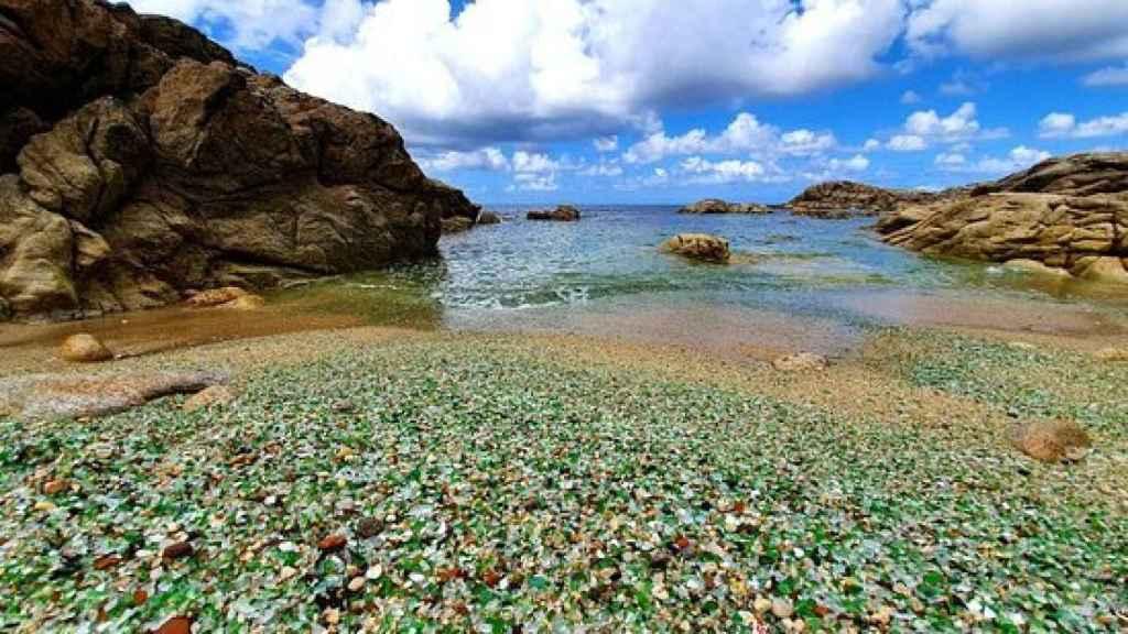 Laxe y la Playa de los Cristales