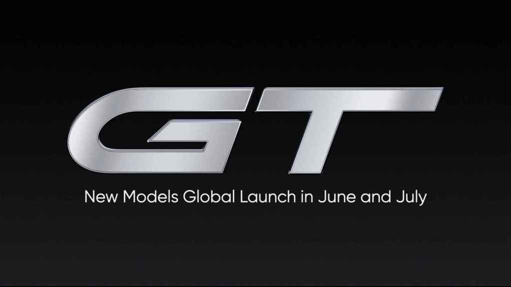 realme GT lanzamiento internacional