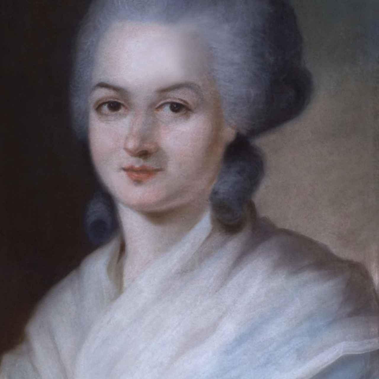 Olympe de Gouges, la filósofa política francesa, autora de la Declaración de los Derechos de la Mujer y de la Ciudadana.