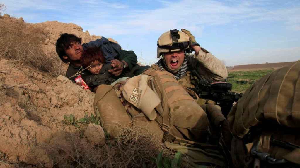 Un soldado estadounidense en una operación en Afganistán.