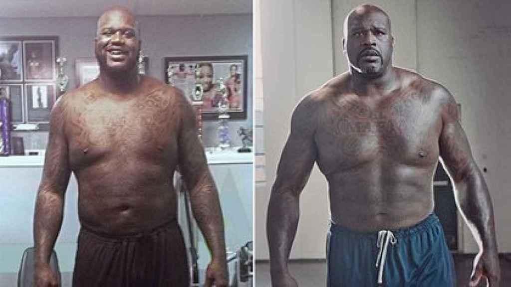 El cambio físico de Shaquille O'Neal desde 2020