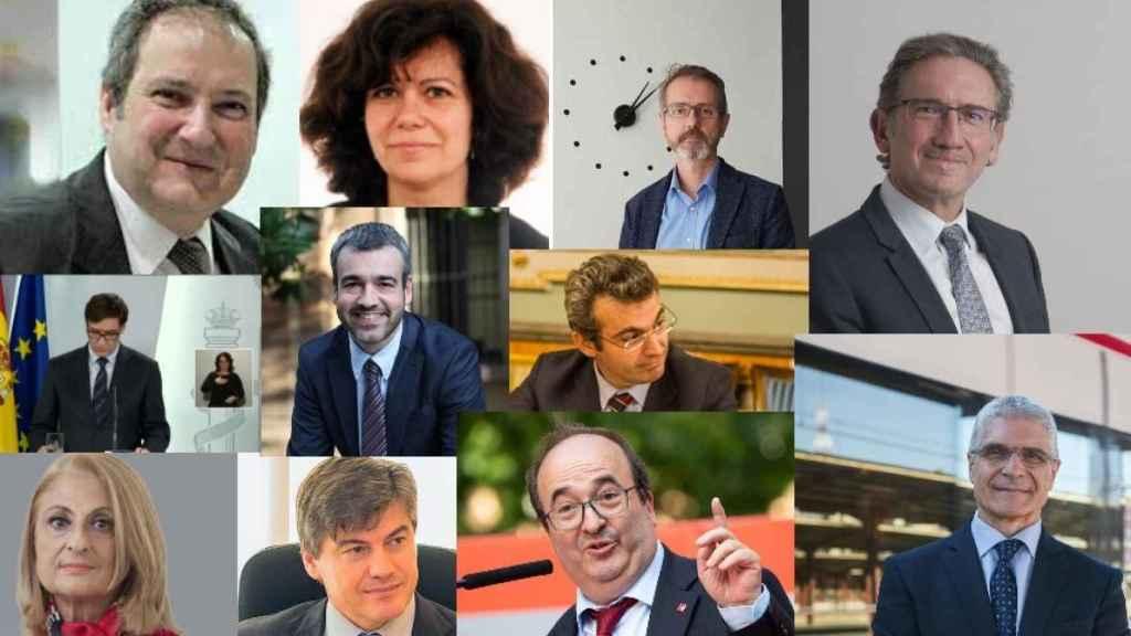 J. Hereu, E. Malaret, M. Murtra, J. Giró, S. Illa, M. Lucena, A. Colldefors, M. Costa, A. Cañete, M. Iceta e I. Táboas.