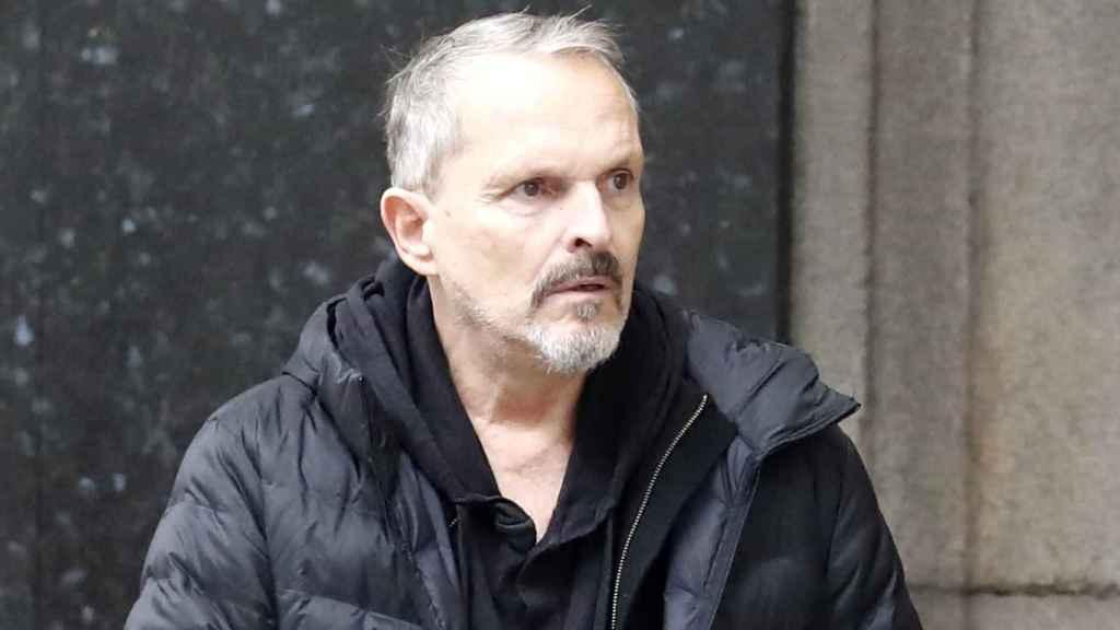 Miguel Bosé, en una imagen de archivo fechada en octubre de 2019.