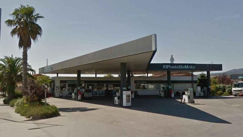 La gasolinera Poste de Mata, donde Alla trabajó durante años.